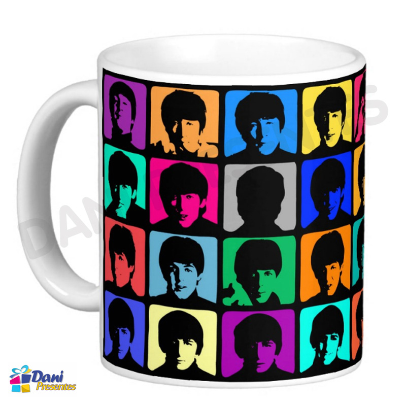 Caneca The Beatles - Pop Art