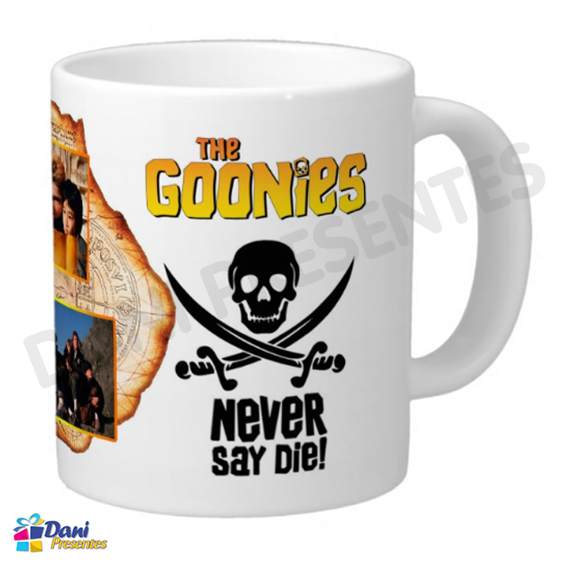 Caneca The Goonies - Never Say Die!