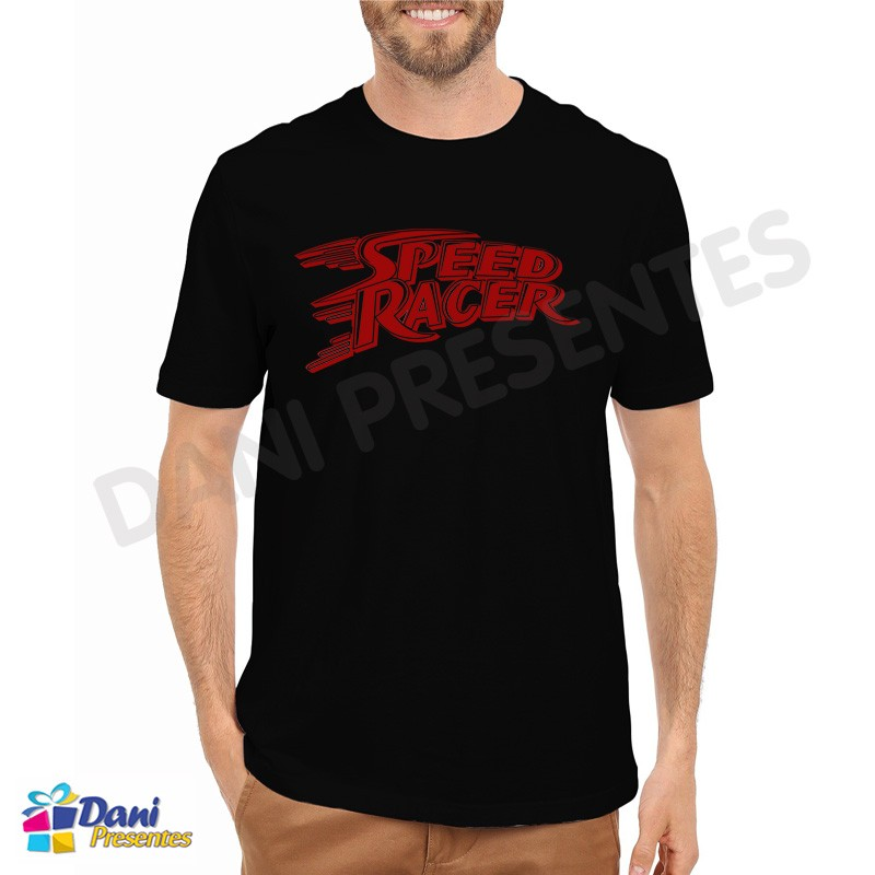 Camiseta Speed Racer Preta
