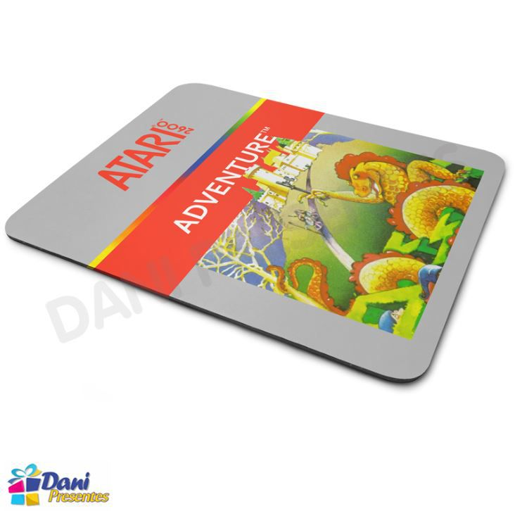 Mouse Pad Adventure Atari - Retrô Game
