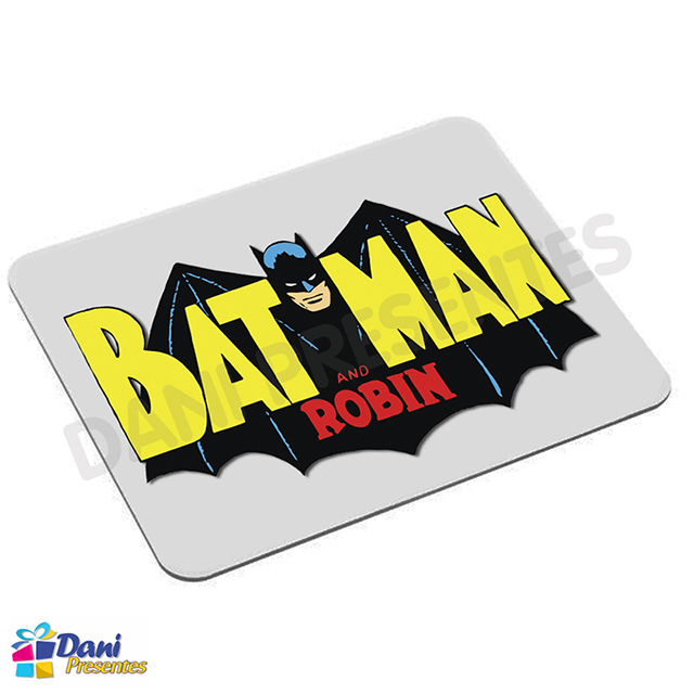 Mouse Pad Batman e Robin - Retrô