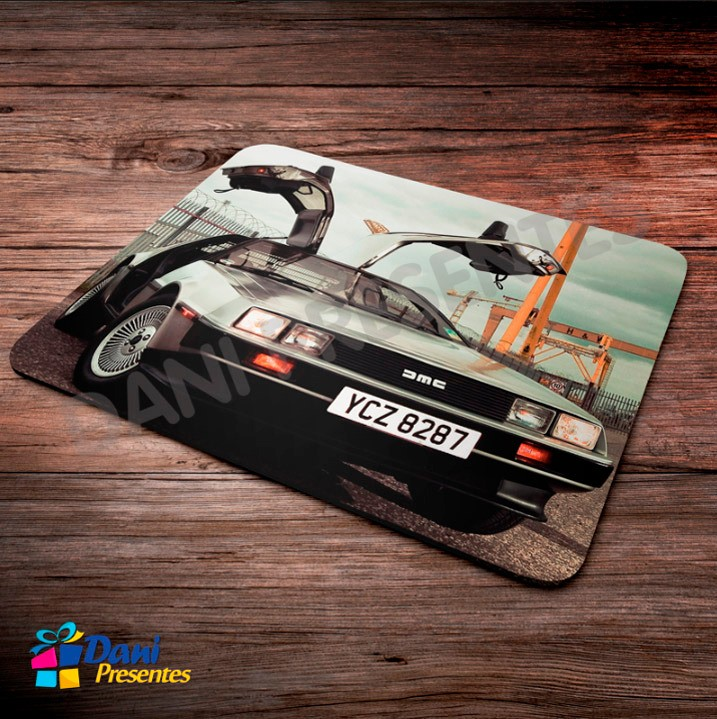 Mouse Pad Delorean DMC