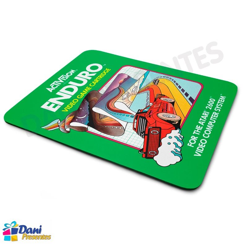 Mouse Pad Enduro Activision Atari - Retrô Game