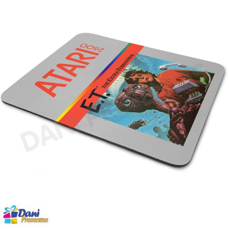 Mouse Pad ET O Extraterrestre Atari 2600 - Retrô Game