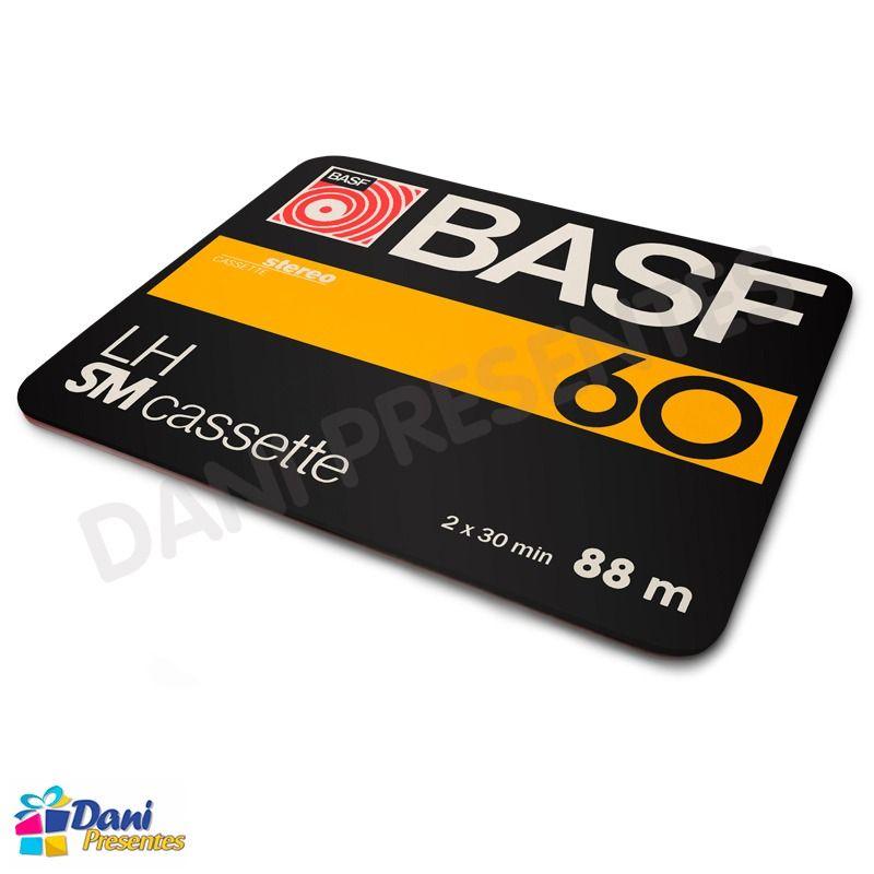 Mouse Pad Fita Cassete Basf K7 LM SM