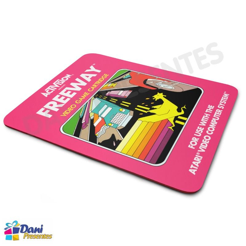 Mouse Pad Freeway Activision Atari - Retrô Game