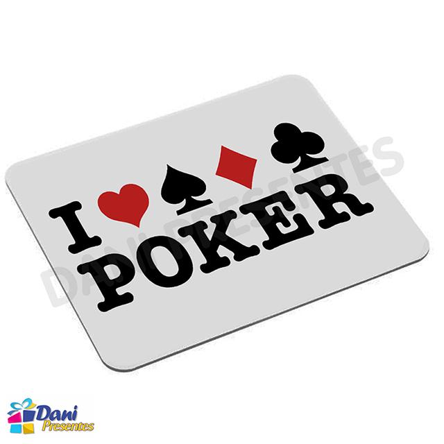 Mouse Pad I Love Poker