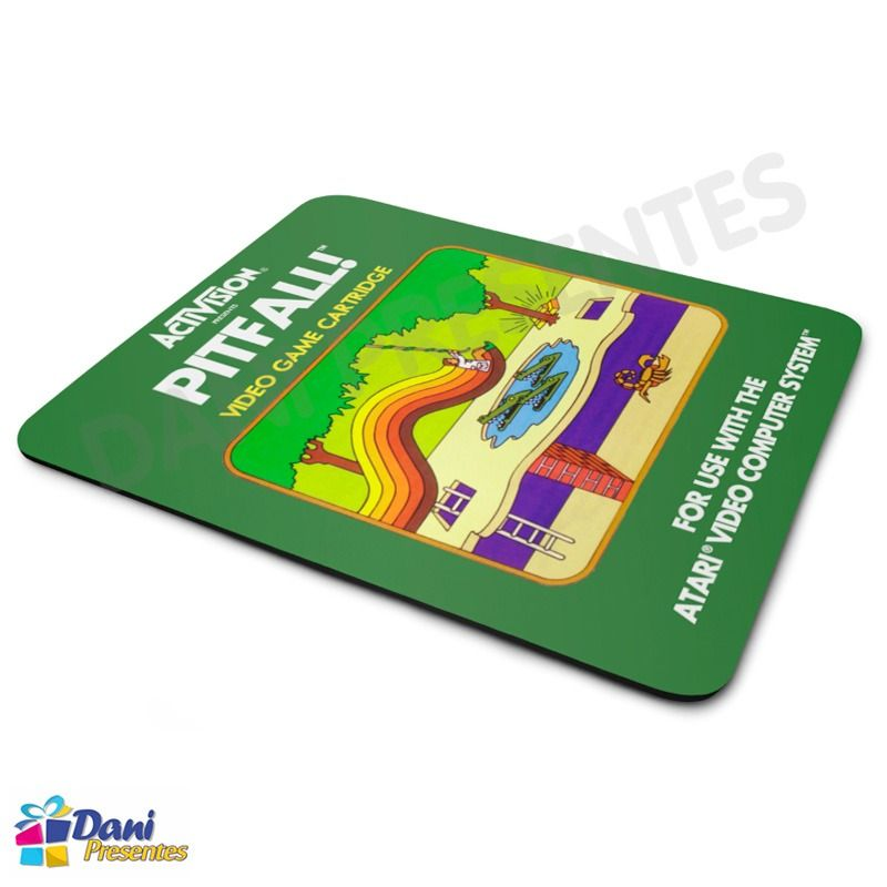 Mouse Pad Pitfall! Activision Atari - Retrô Game
