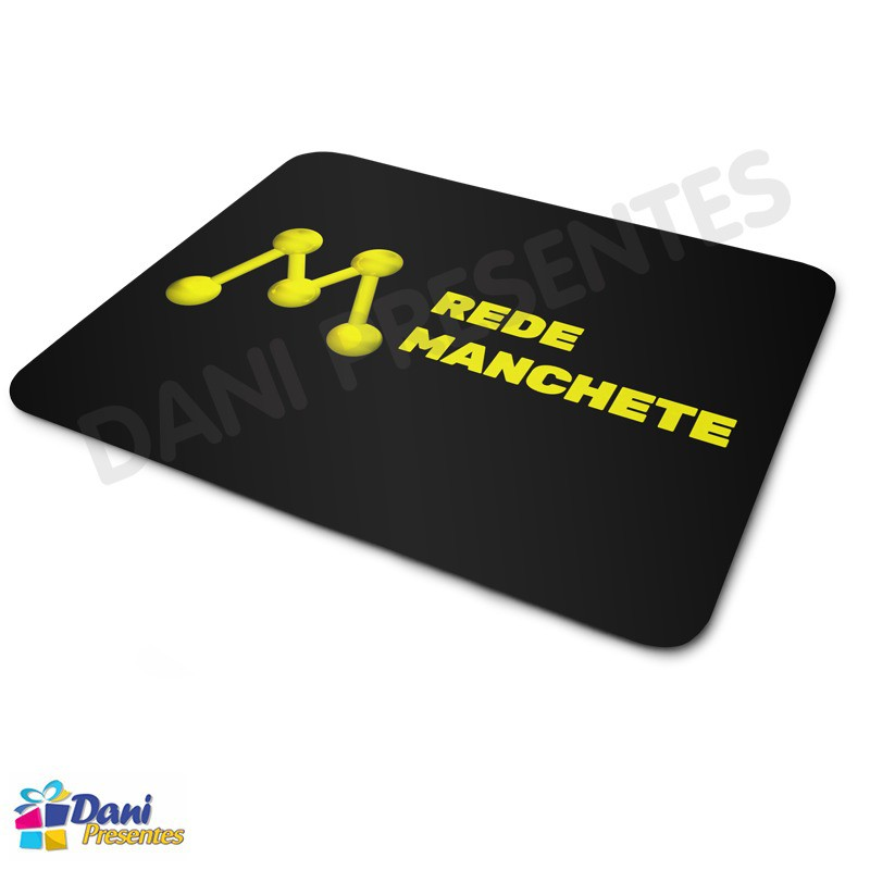 Mouse Pad Rede Manchete
