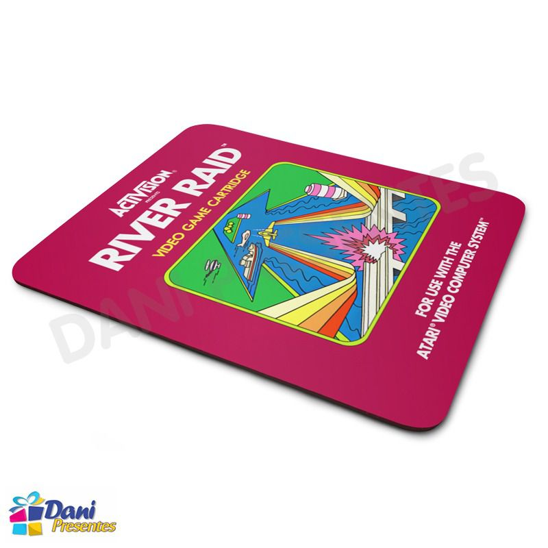 Mouse Pad River Ride Atari - Retrô Game
