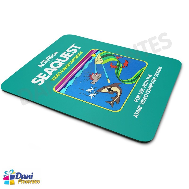 Mouse Pad Seaquest Atari - Retrô Game