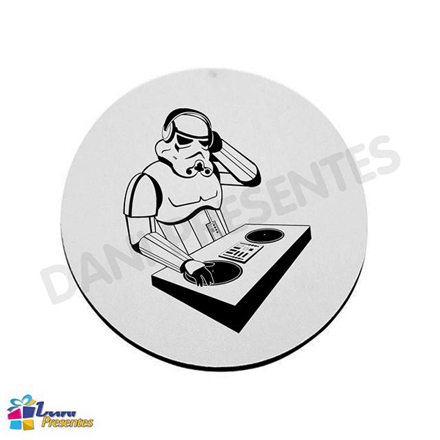 Mouse Pad Star Wars - Stormtroopers DJ - Disco de Vinil