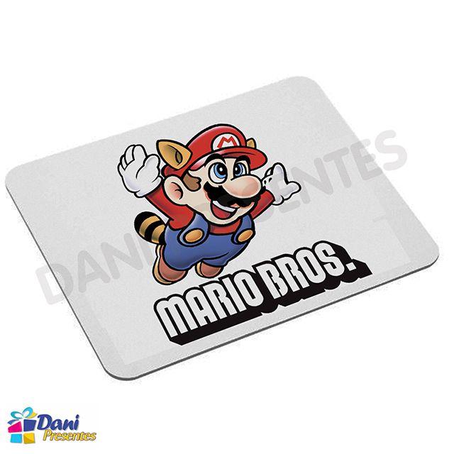 Mouse Pad Super Mario Bros Clássico