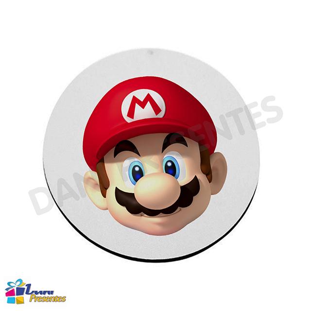 Mouse Pad Super Mario Bros Rosto