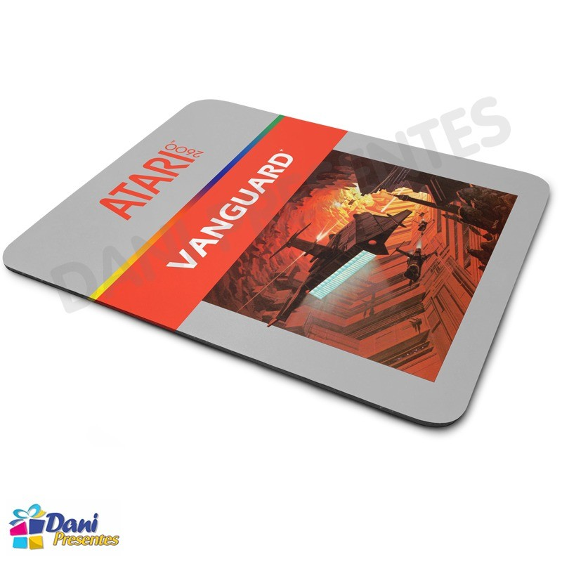 Mouse Pad Vanguard Atari - Retrô Game