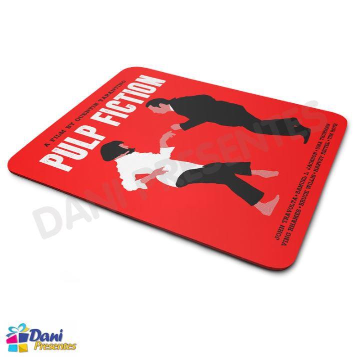 Mouse Pad Quentin Tarantino - Pulp Fiction - Tempo de Violência