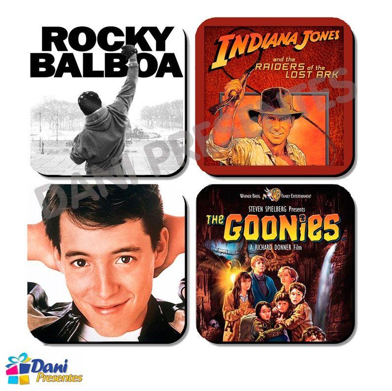 Porta-Copos de Filmes dos Anos 80