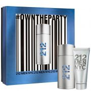 Kit 212 Men NYC Eau de Toilette 100ml + Shower Gel 100ml - Perfume Masculino