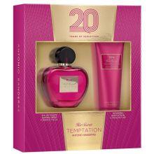 Her Secret Temptation EDT 80ml + Body Lotion 75ml - Kit Perfume Feminino
