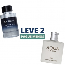 Kit Leve 2 Pague Menos - Extreme Story 75ml e Aqua Man 90ml