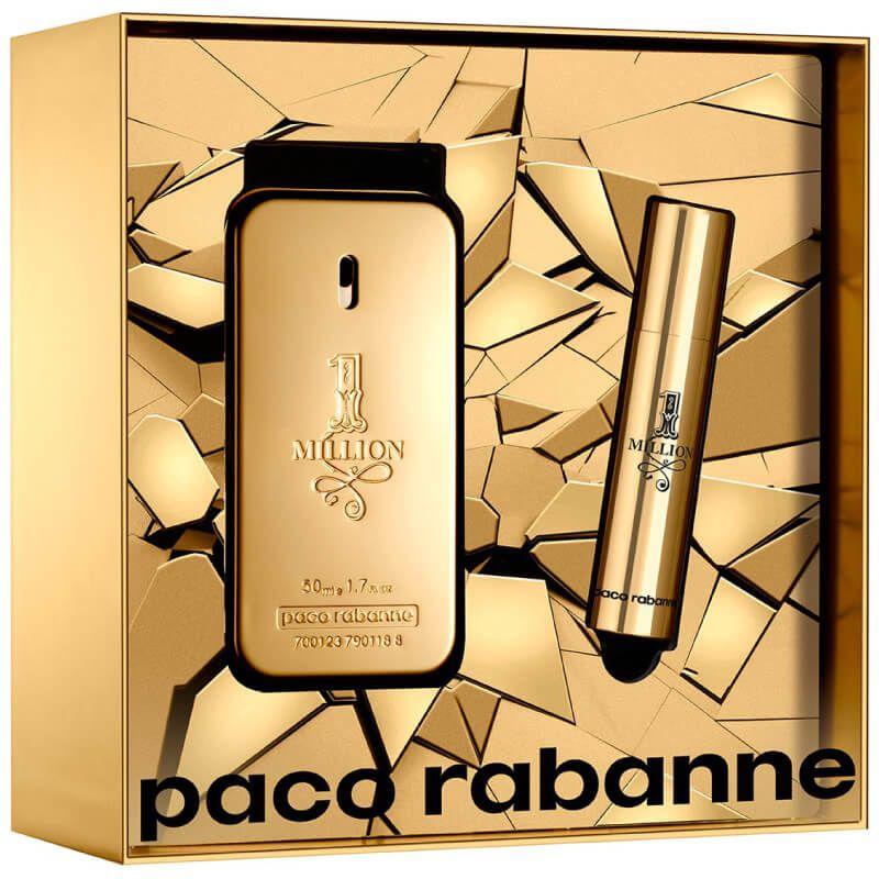 1 Million EDT 50ml + Travel Size 10ml - Kit Perfume Masculino