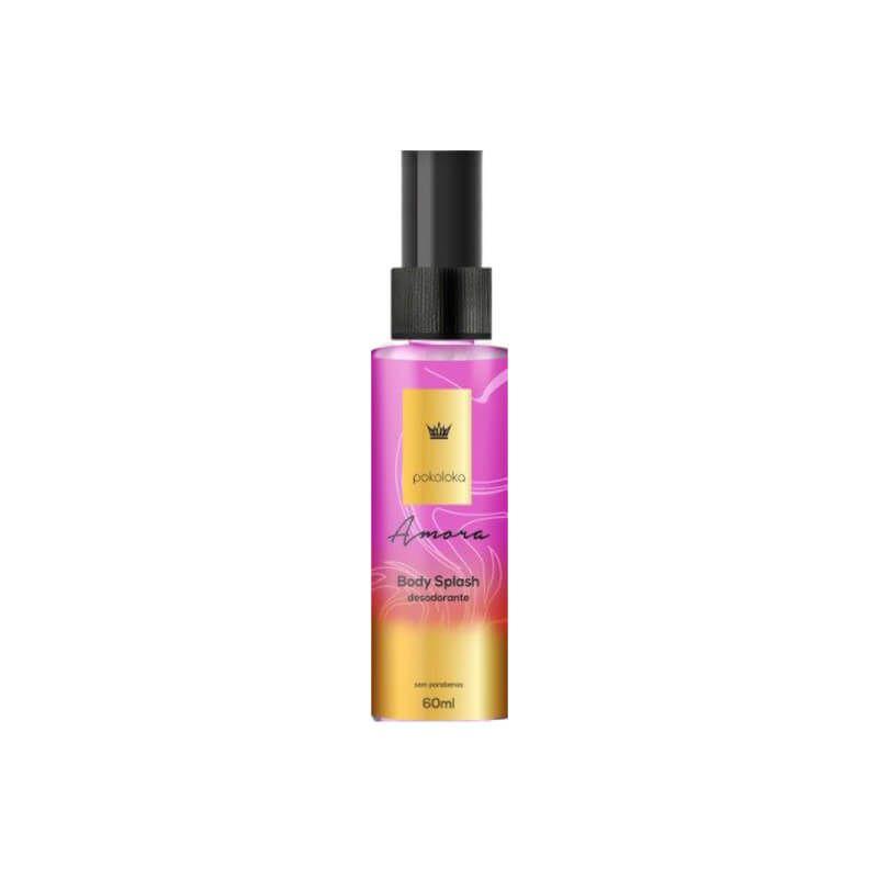 Amora Body Splash Pokoloka Desodorante Perfumado 60ML