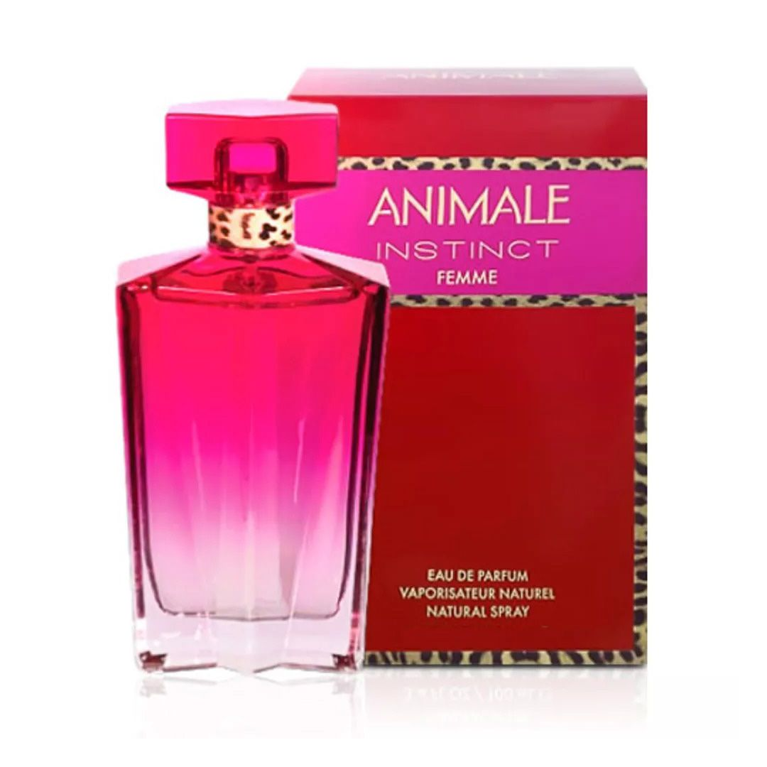 Animale Instinct For Woman Eau de Parfum 100ml - Perfume Feminino