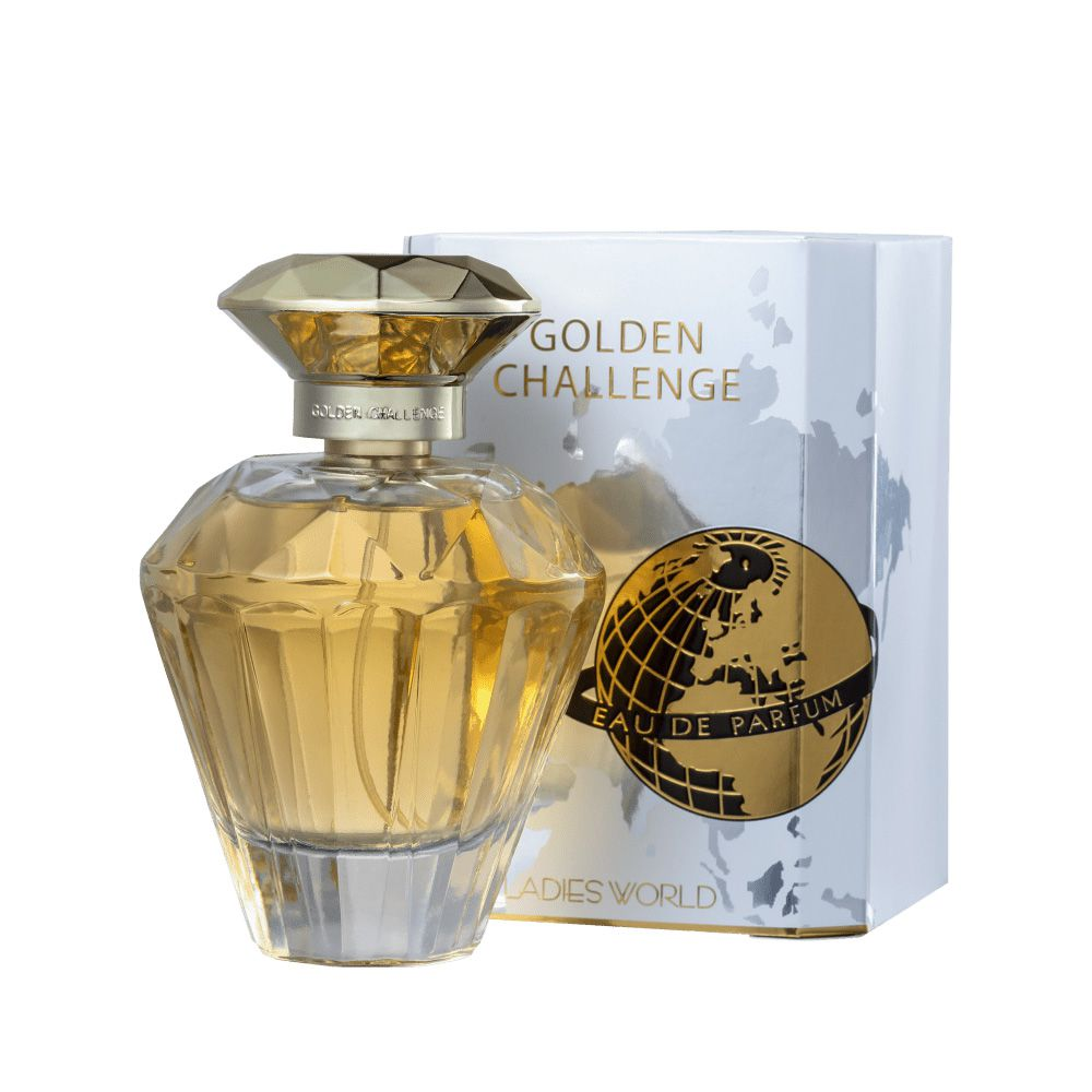 Golden Challenge Ladies World Eau de Parfum 100ml - Perfume Feminino