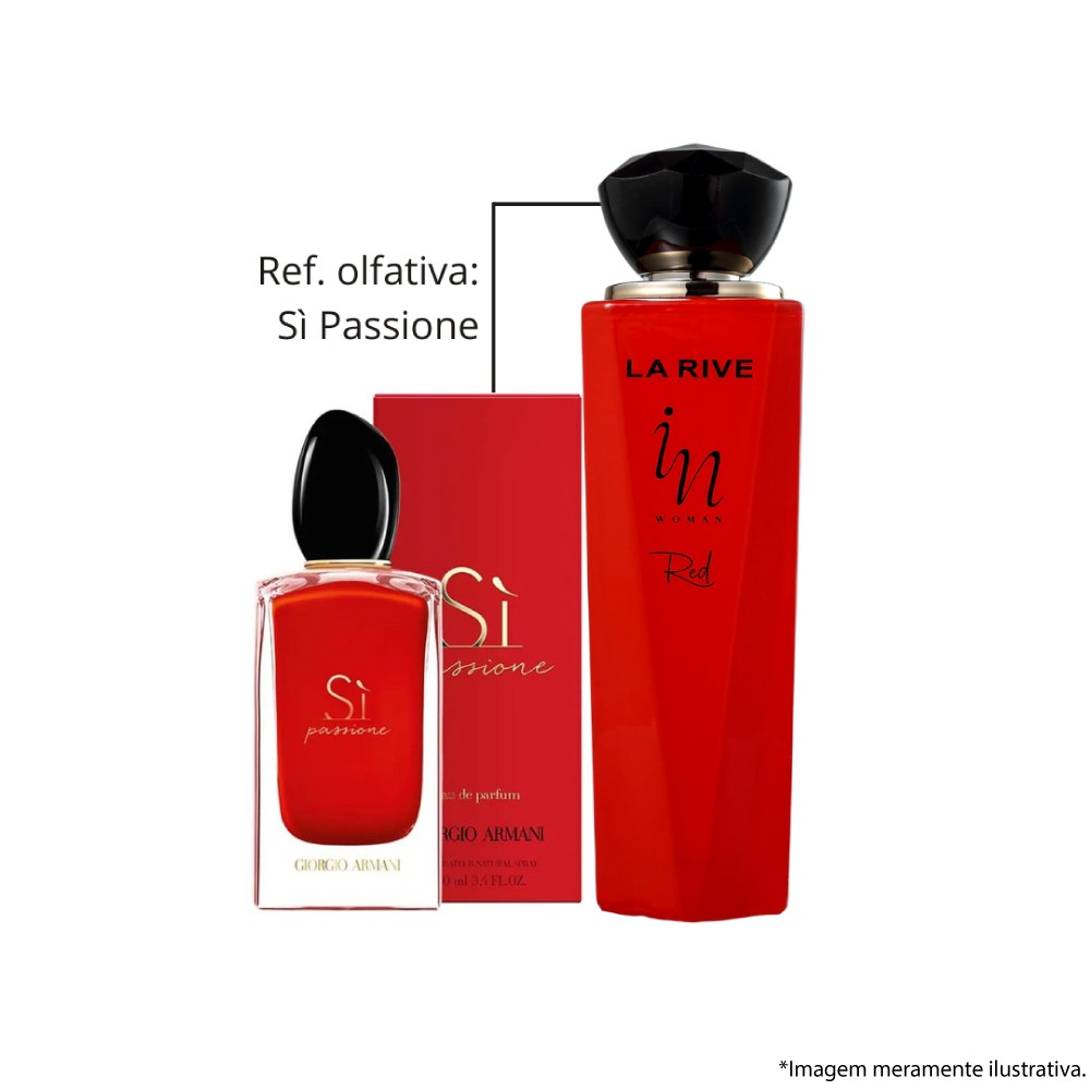 La Rive In Woman Red Eau de Parfum 100ml - Perfume Feminino