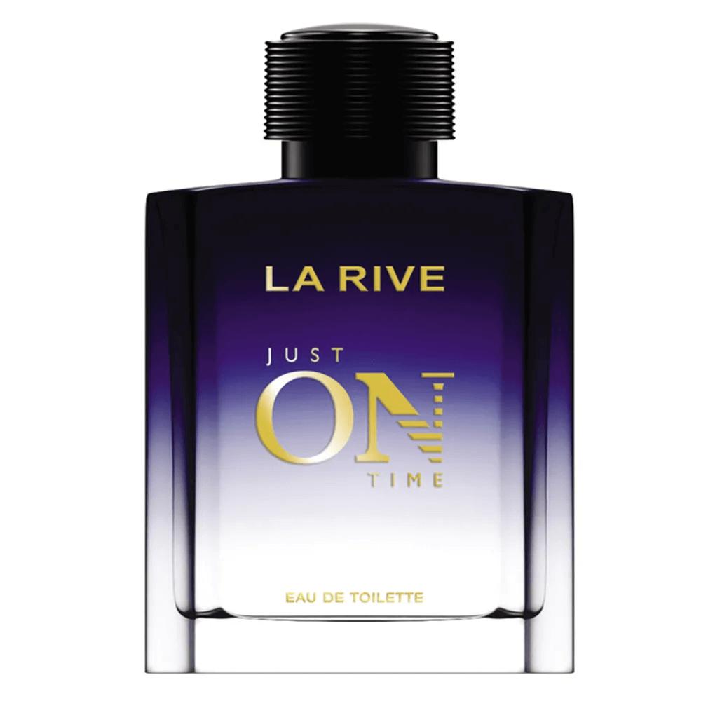 La Rive Just On Time Eau de Toilette 100ml -  Perfume Masculino