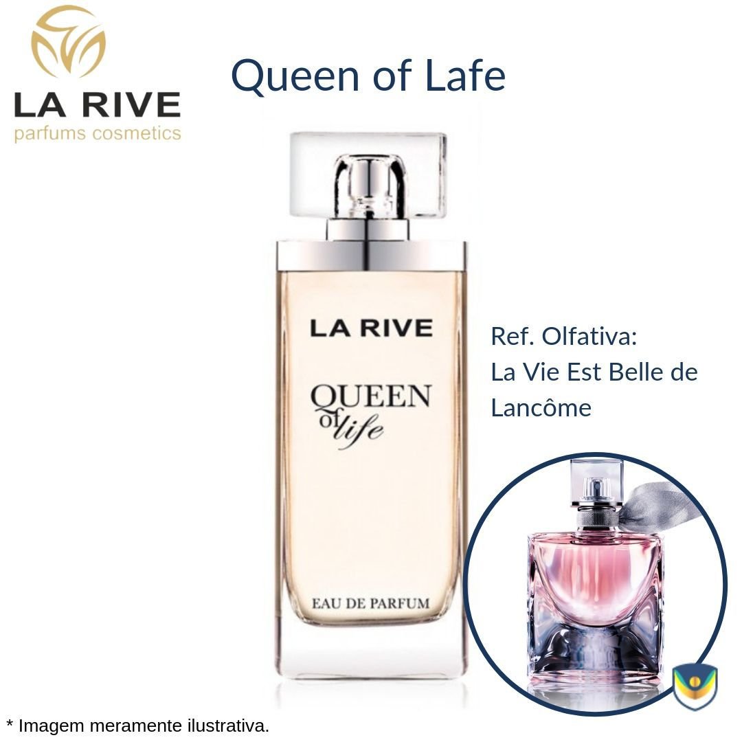 La Rive Queen of Life Eua de Parfum 75ml - Perfume Feminino