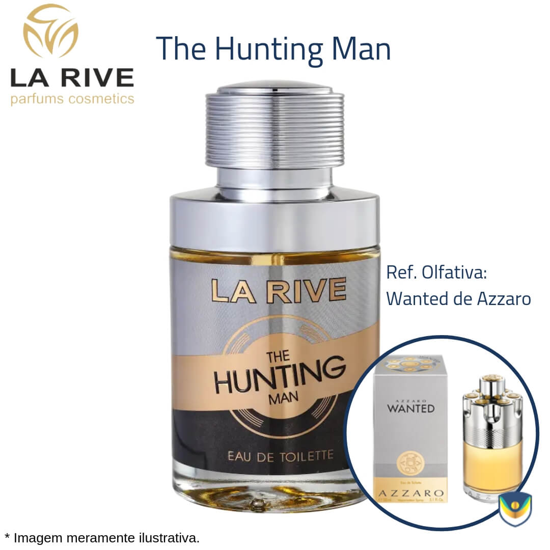 La Rive The Hunting Man Eau De Toillete 75ml  - Perfume Masculino