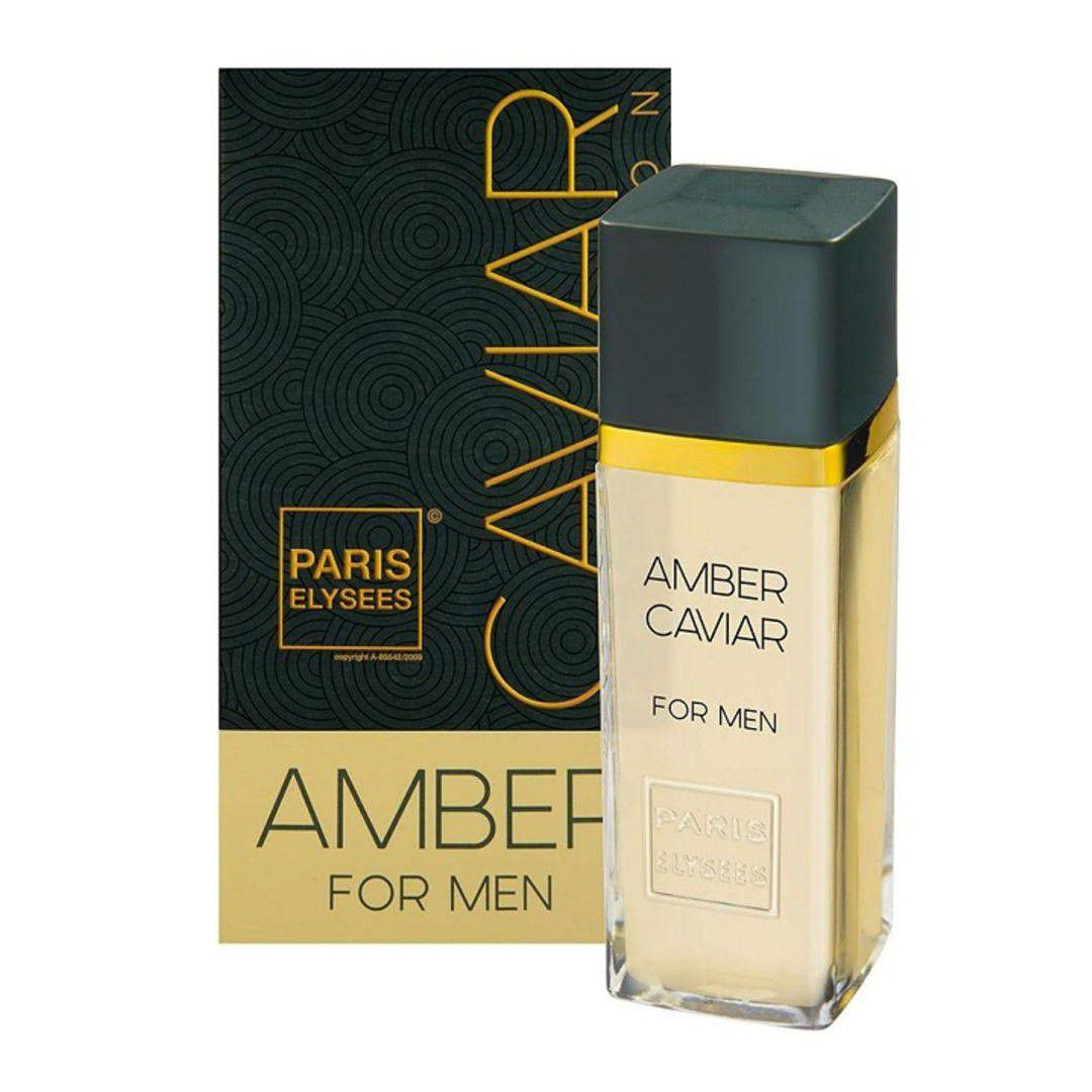 Paris Elysees Amber Caviar For Men  Eau de Toilette 100ml - Perfume Masculino