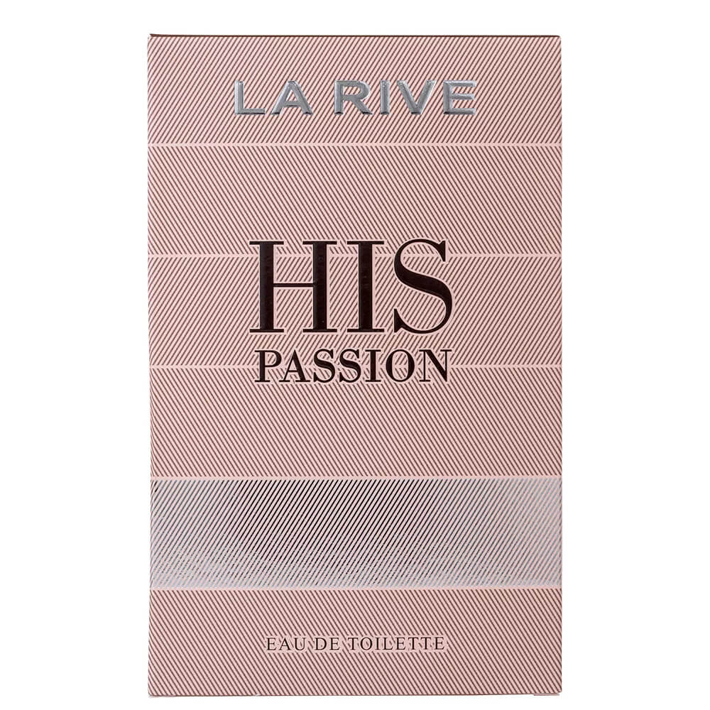 Perfume His Passion - La Rive - Masculino - Eau de Toilette 100ml