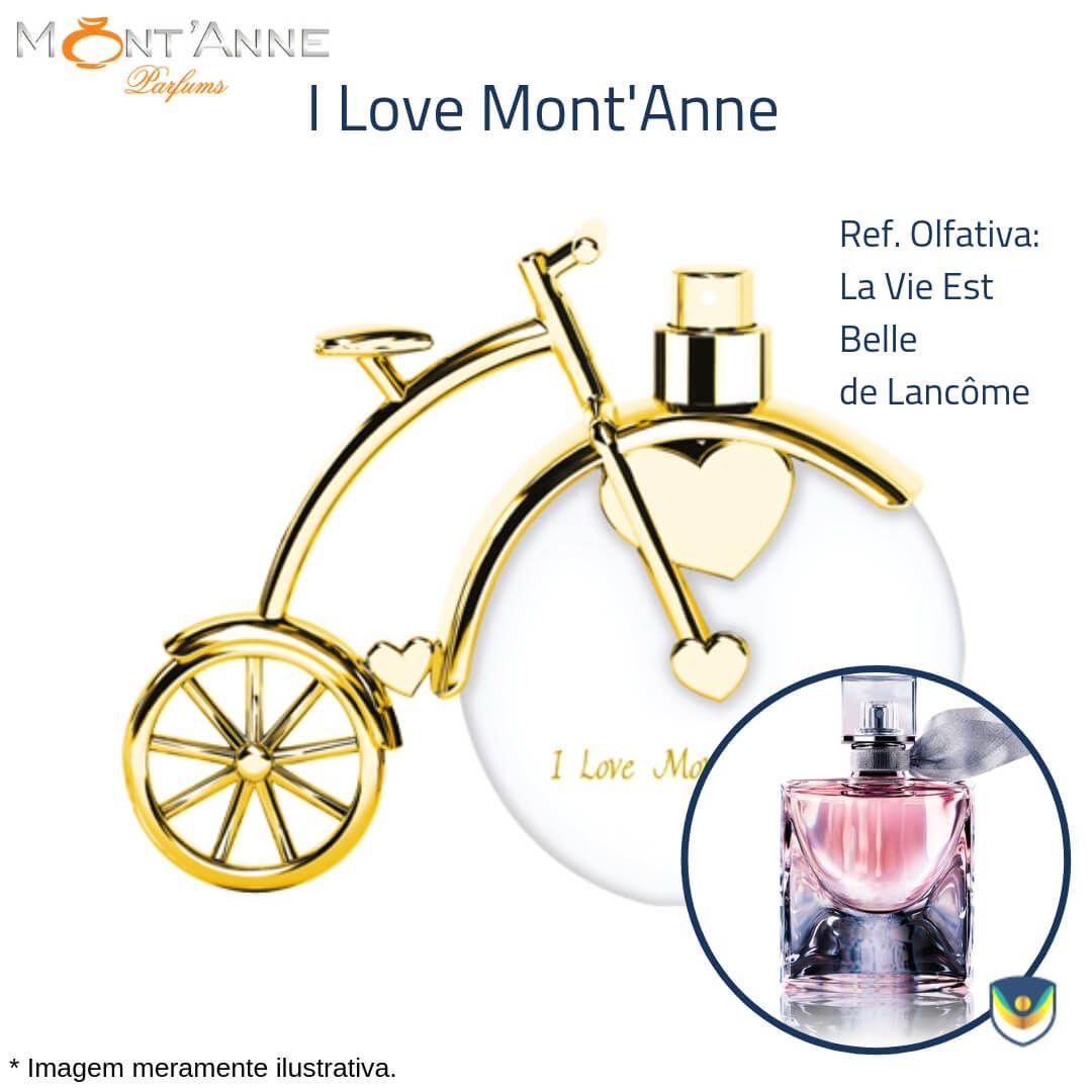 Perfume I Love Mont'Anne Eau de Parfum 100ml - Perfume Feminino