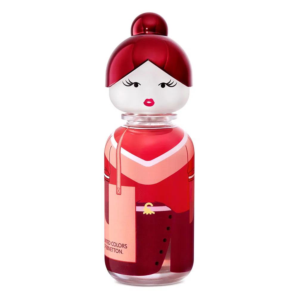 Perfume Red Rose Sisterland United Colors of Benetton EDT 80ml - Perfume Feminino