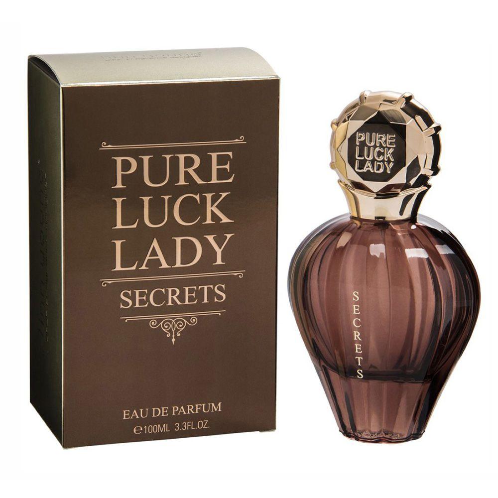 Pure Luck Lady Secrets Eau de Parfum 100ml - Perfume Feminino
