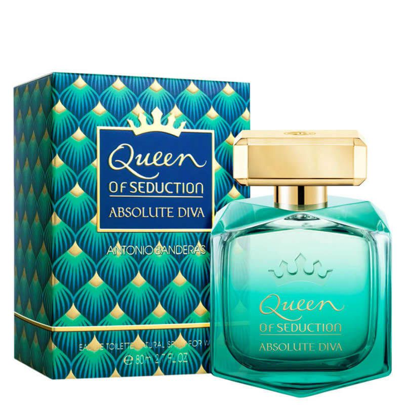 Queen Of Seduction Absolute Diva Eau de Toillete - Perfume Feminino 80ml