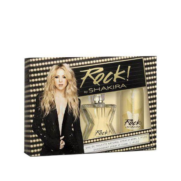 Rock by Shakira Eau de Toilette 80ml + Desodorante Spray 150ml
