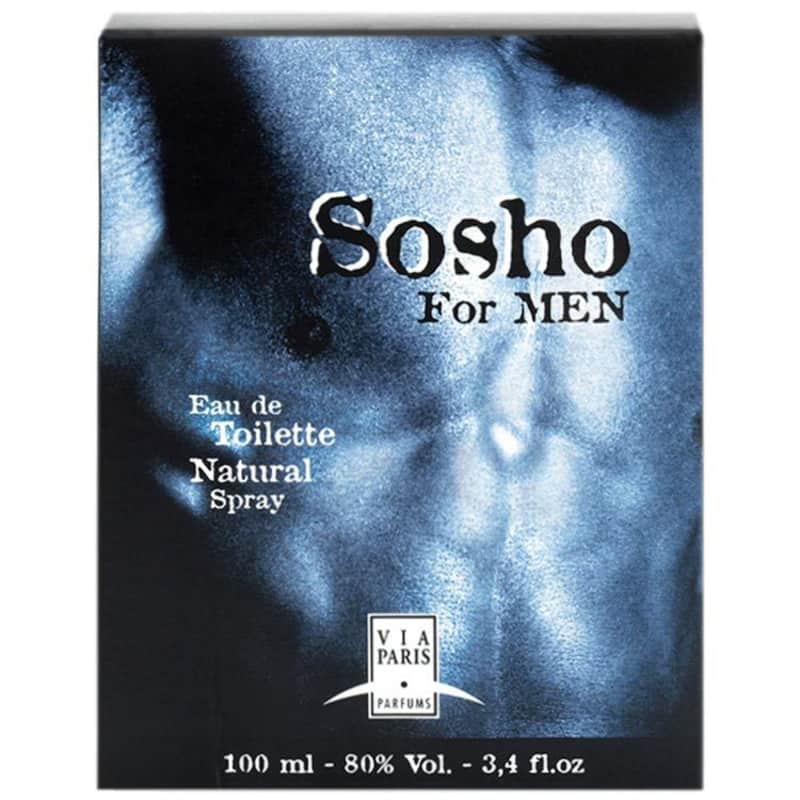Sosho For Men Eau de Toilette 100ml - Perfume Masculino