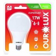 Lampada Ourolux Super Led 17W Bivolt Cor: Branca