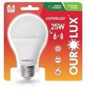 Lampada Ourolux Super Led 25W Bivolt Cor: Branca