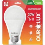 Lampada Ourolux Super Led 30W Bivolt Cor: Branca