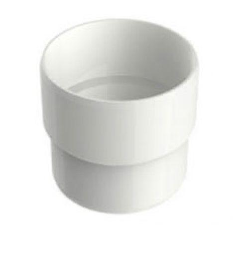 Acoplamento Aquapluv Style Circular Branco