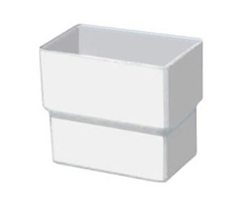 Acoplamento Aquapluv Style Retangular Branco