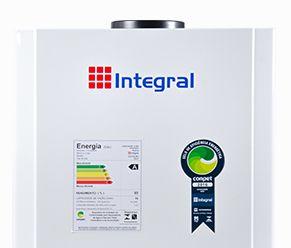Aquecedor de Agua a Gas 15L .Integral Mecânico
