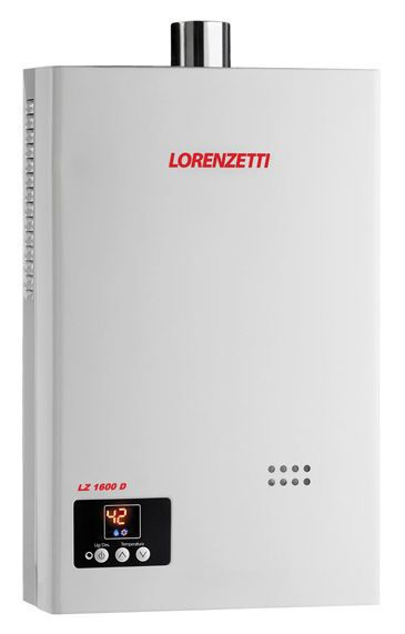 Aquecedor de Agua a Gas LZ-1600 Digital (GLP) - Lorenzetti