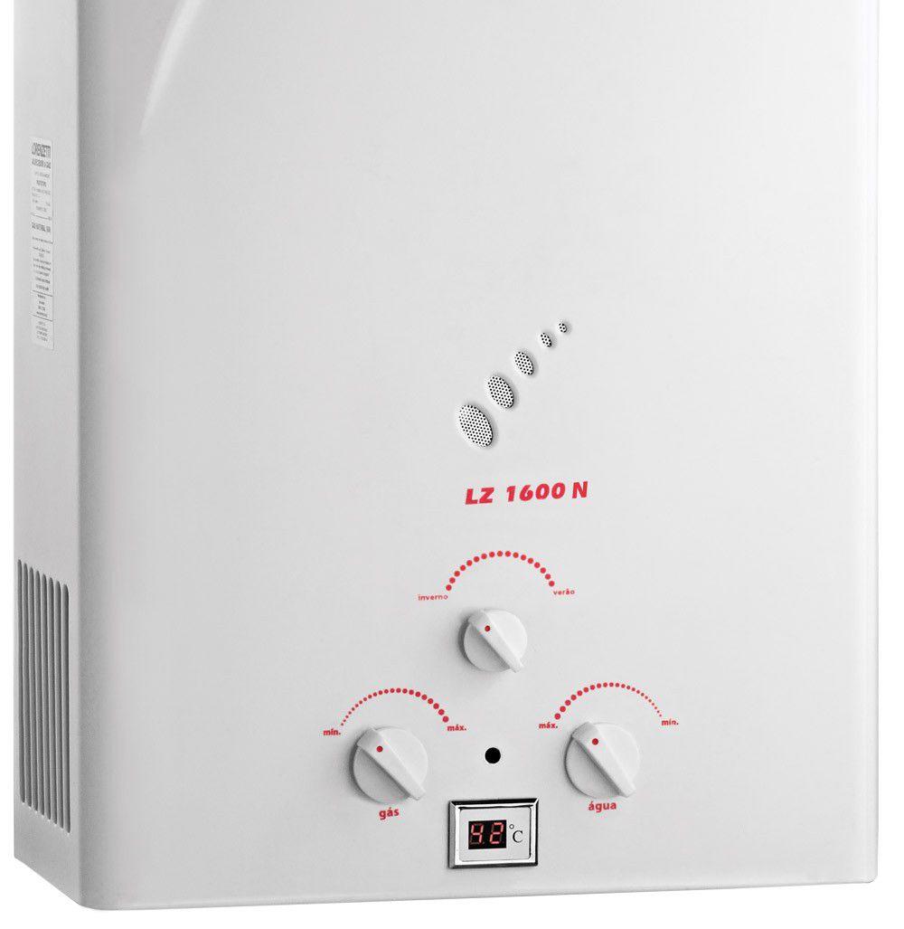 Aquecedor de Agua a Gas LZ-1600 .N (GLP) - Lorenzetti