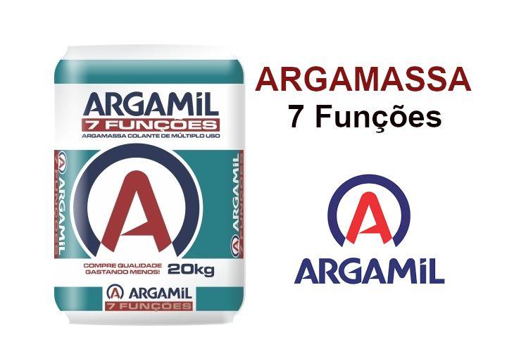 Argamassa Argamil 7 Funcao - 20Kg