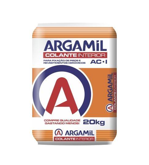 Argamassa Argamil Interna AC1 Cor Cinza - 20Kg